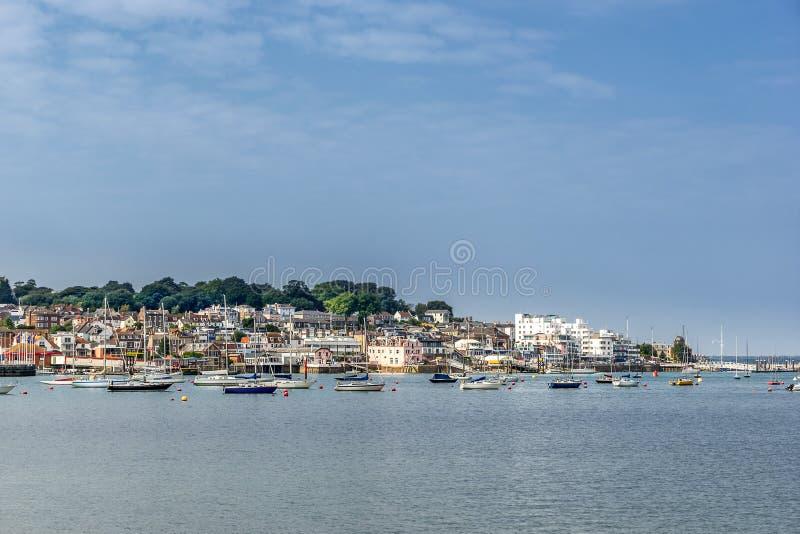 Cowes en la isla del Wight fotos de archivo libres de regalías