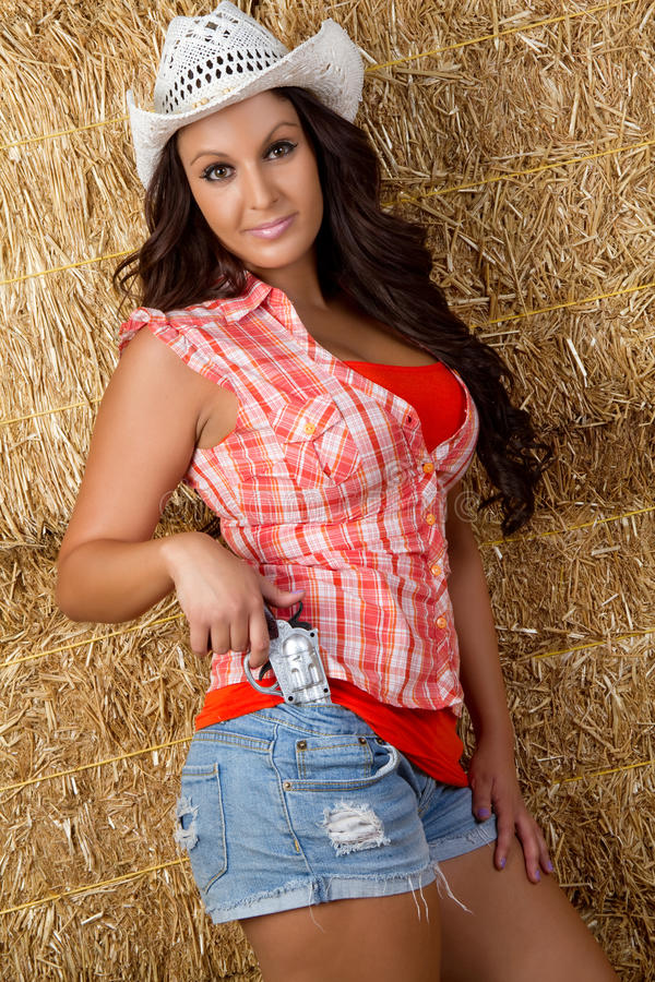 cowgirl αρκετά στοκ φωτογραφίες με δικαίωμα ελεύθερης χρήσης