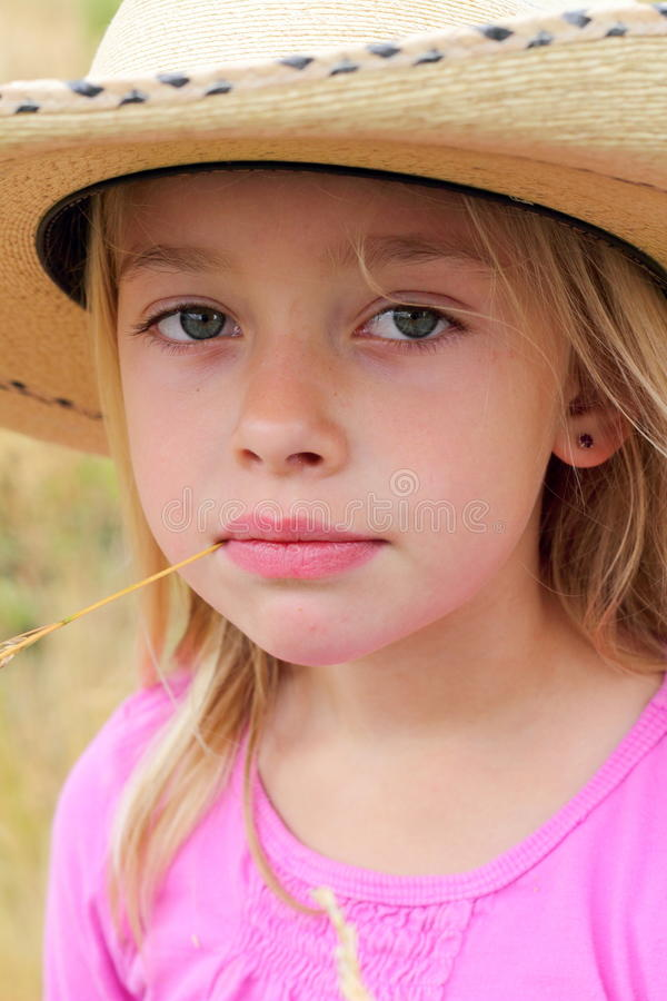 cowgirl λίγα στοκ φωτογραφία με δικαίωμα ελεύθερης χρήσης