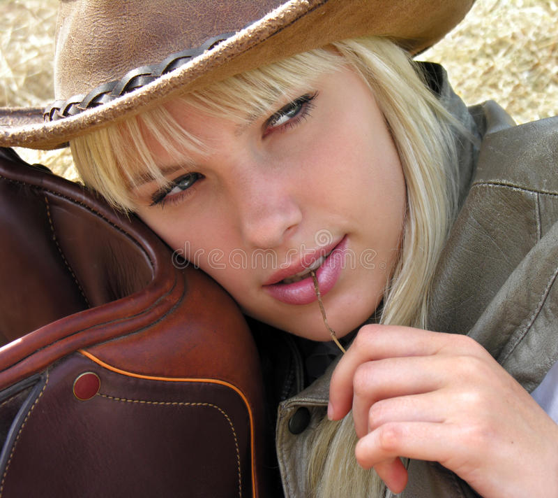 cowgirl νεολαίες στοκ εικόνες