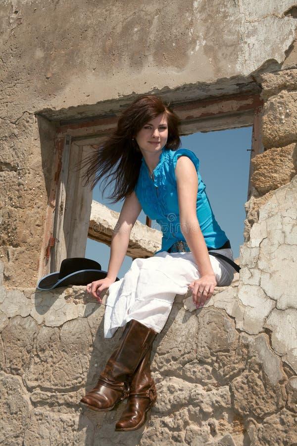 cowgirl στοκ φωτογραφία με δικαίωμα ελεύθερης χρήσης