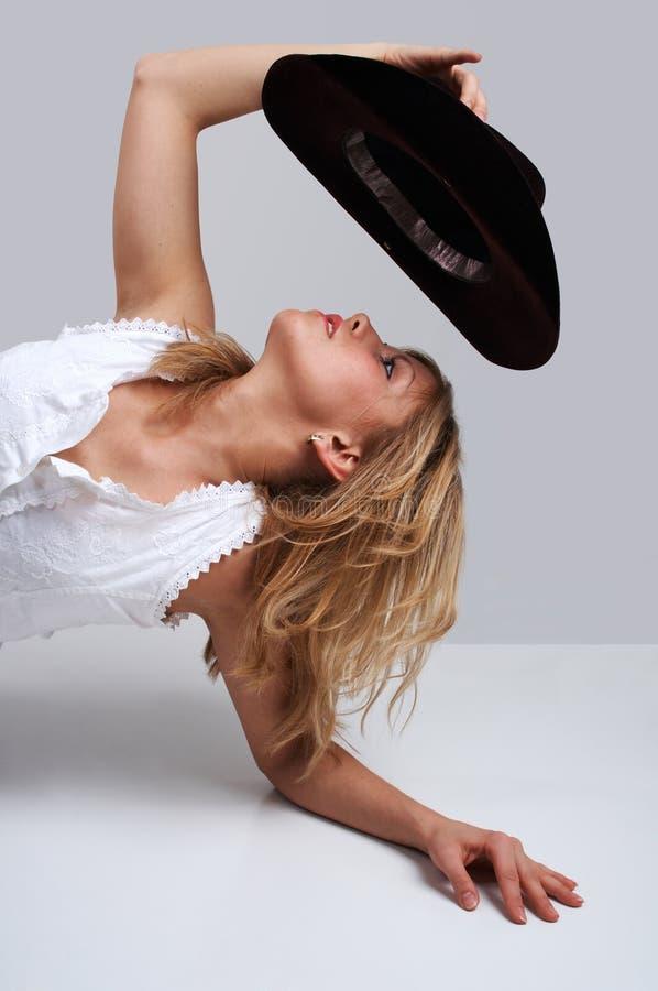 Cowgirl fotografie stock