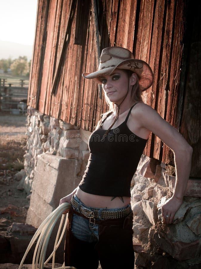 cowgirl στοκ εικόνες με δικαίωμα ελεύθερης χρήσης