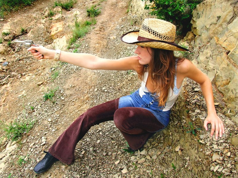 cowgirl στοκ φωτογραφίες