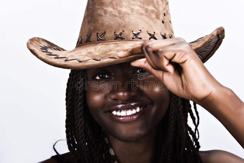Download Cowgirl stock image. Image of head, lips, beautiful, hairstyle - 3434561