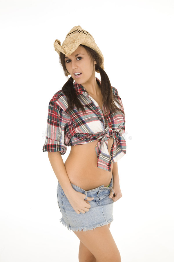 Cowgirl fotografie stock