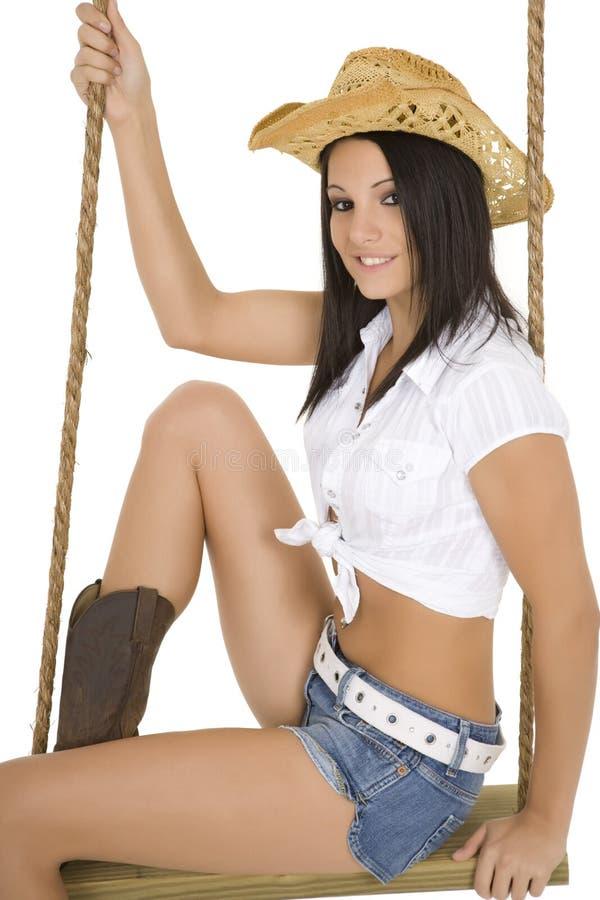 Cowgirl foto de archivo libre de regalías