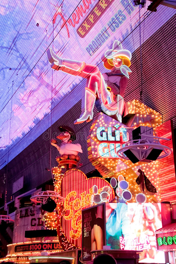 Cowgirl neon sign royalty free stock images