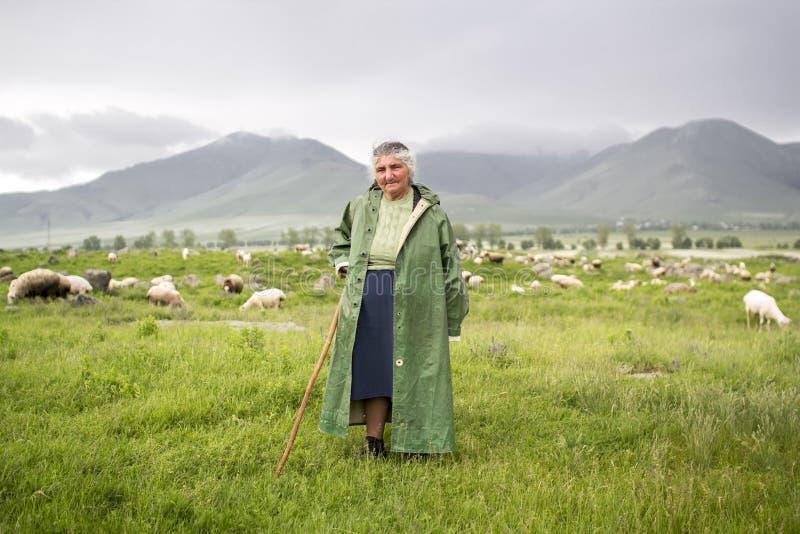 Cowgirl w Armenia fotografia royalty free