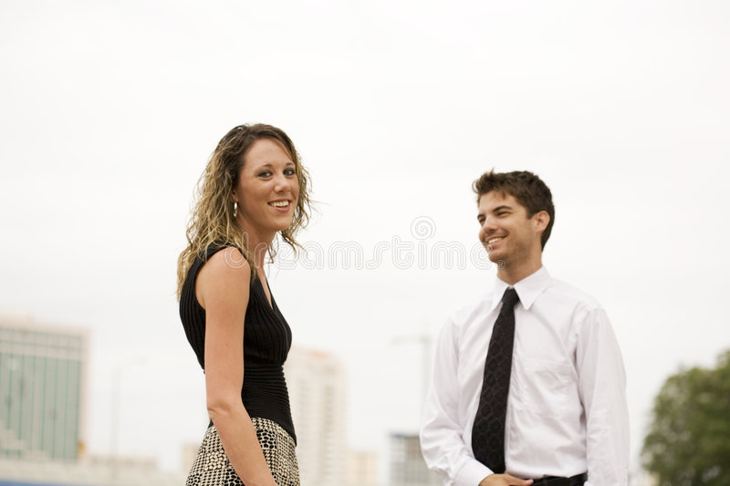 Coworkers stock photography