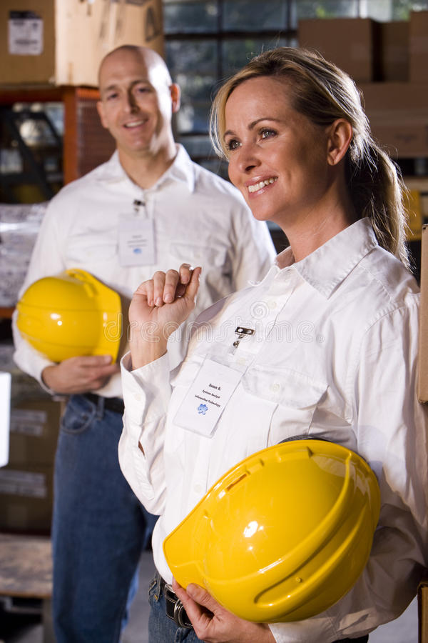 Download Coworkers In Office Storage Room Stock Image - Image: 10664823
