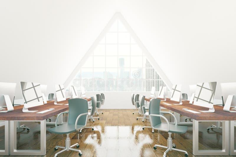 Coworking Büro Browns vektor abbildung