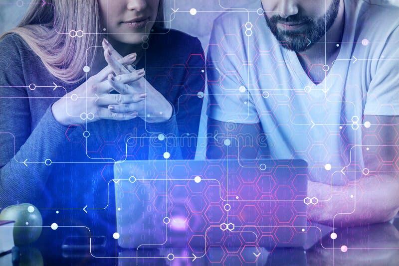 Coworking e conceito da inovação imagens de stock
