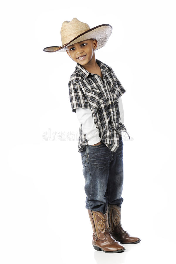 Cowpoke de poche photos stock