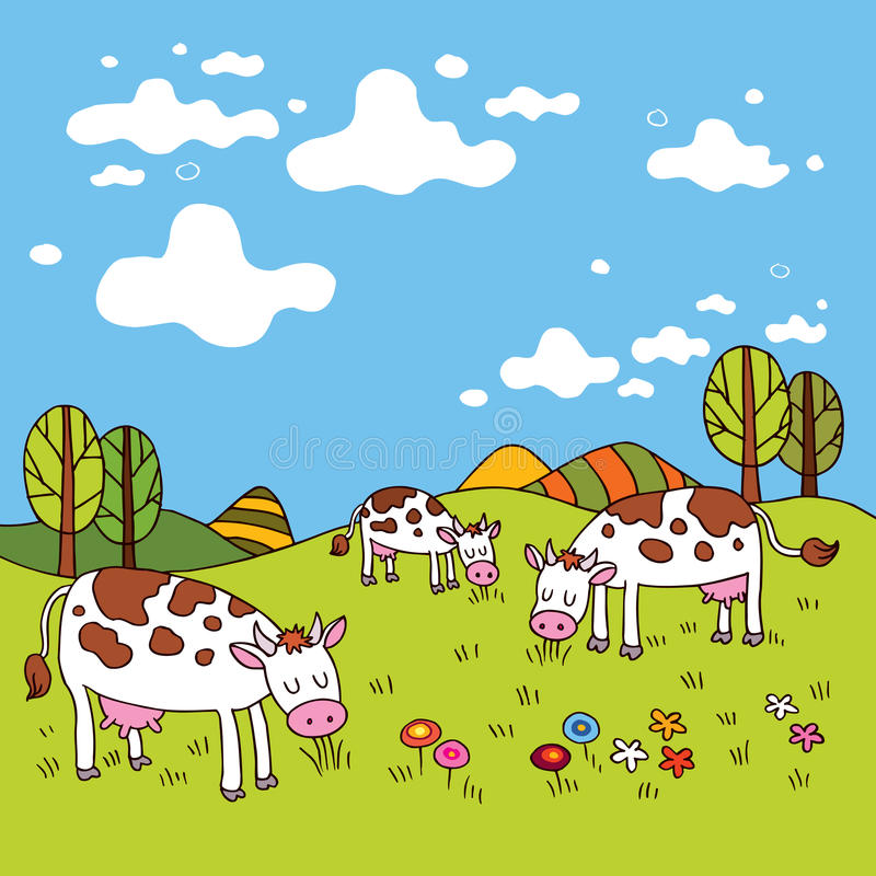 Download Cows In A Field Royalty Free Stock Photo - Image: 29262215