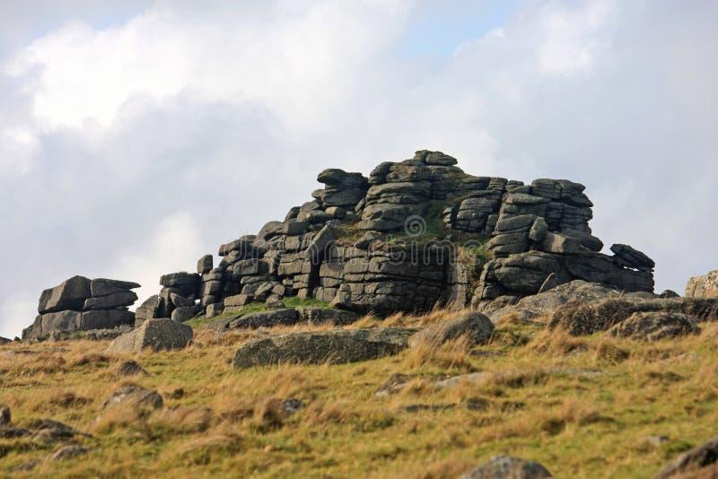 Cox Tor, Dartmoor zdjęcia royalty free