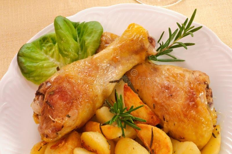 Coxas da galinha - close up imagens de stock royalty free