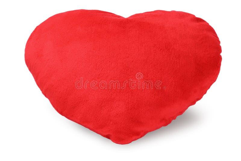 Coxim do coração do amor foto de stock royalty free
