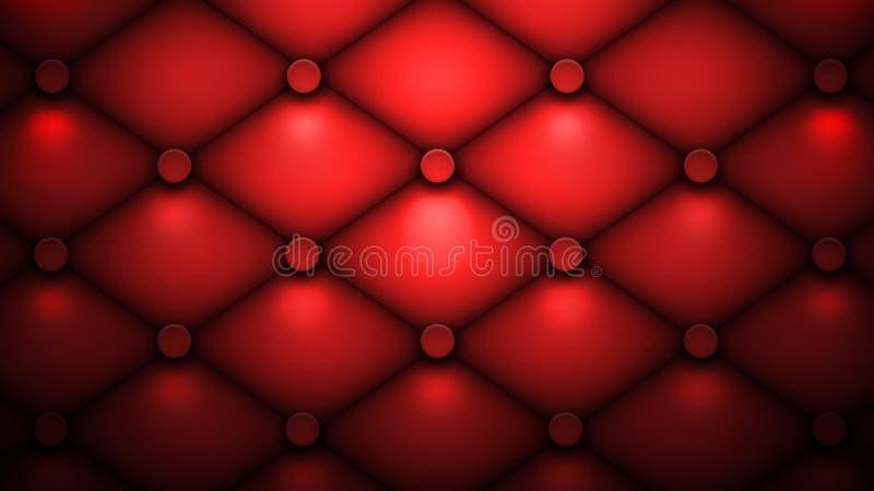 Coxim vermelho foto de stock royalty free