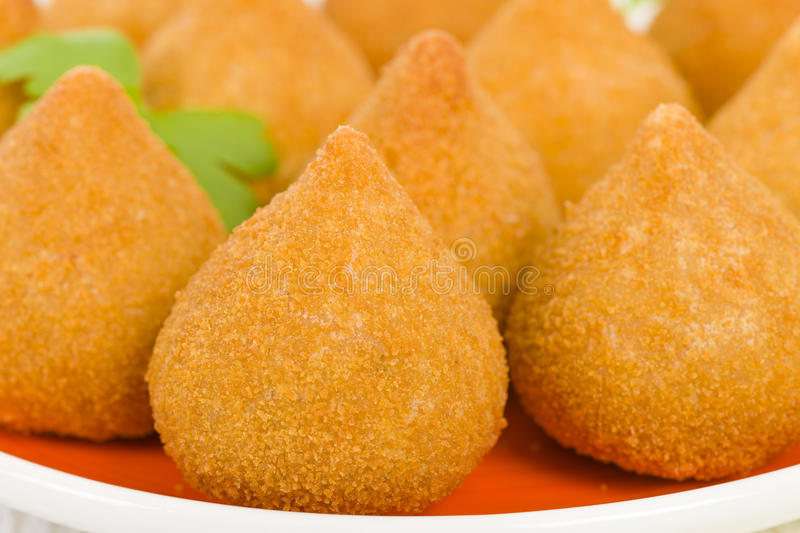 Download Coxinha de Galinha stock photo. Image of brazil, american - 36913930