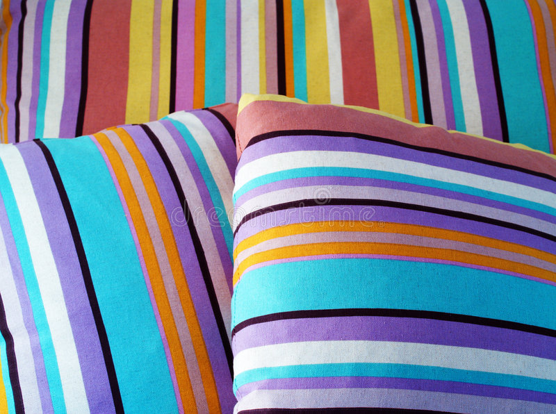 Coxins coloridos imagem de stock
