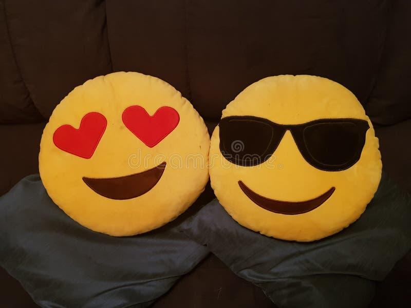 Coxins de Emoji fotos de stock royalty free