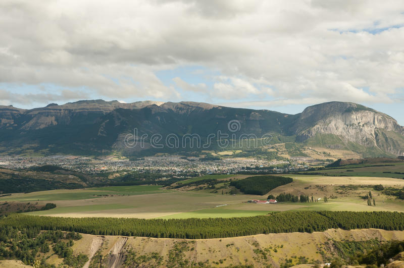 Coyhaique - Χιλή στοκ φωτογραφία