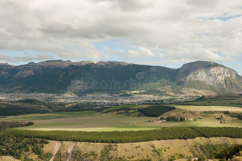 Coyhaique - Chile. Coyhaique City in South Chile stock photography
