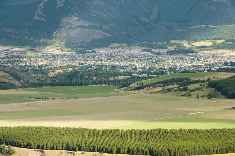 Coyhaique - il Cile immagine stock libera da diritti