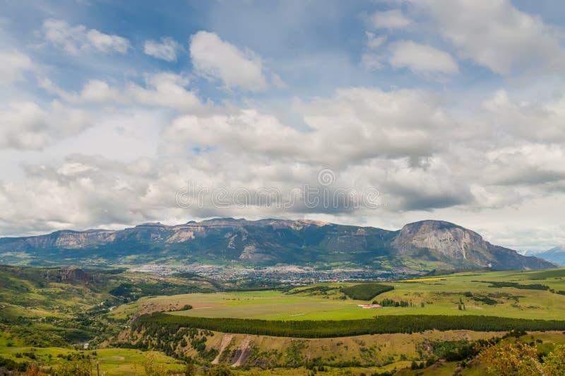 Coyhaique, Patagonia, Chili photos stock