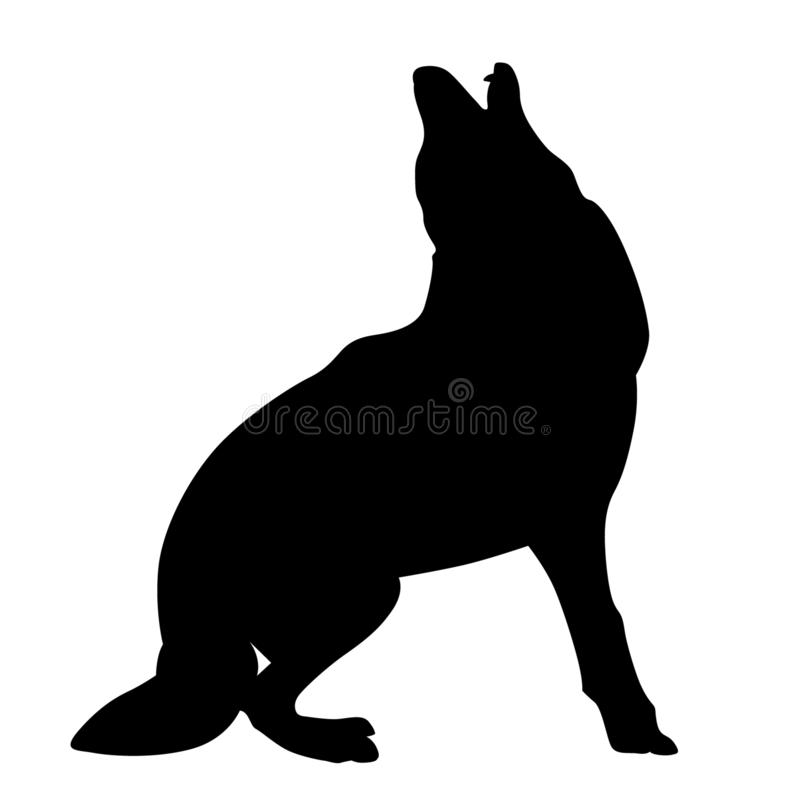 Coyote vector eps Hand drawn Crafteroks svg free, free svg file, eps, dxf, vector, logo, silhouette, icon, instant download, digit. Coyote vector eps, Hand drawn stock illustration