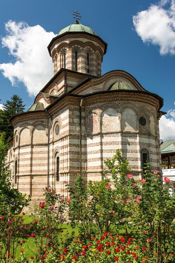Cozia kloster fotografering för bildbyråer