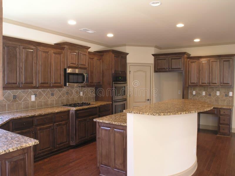 Cozinha 2 da casa fotografia de stock