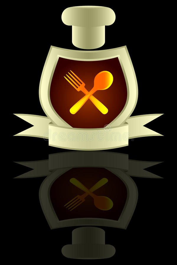 Cozinha. ilustração royalty free