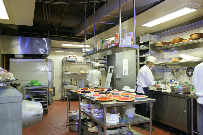 Cozinha da pastelaria imagens de stock royalty free