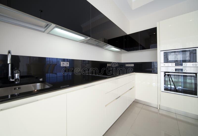 Cozinha do desenhador fotos de stock
