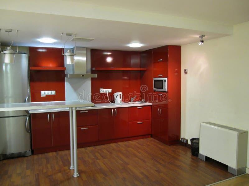 Cozinha do escritório imagens de stock
