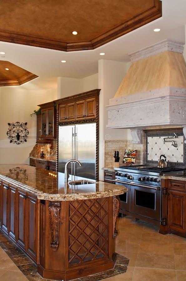 Cozinha luxuosa foto de stock