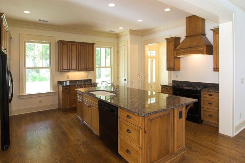 Cozinha luxuosa imagens de stock royalty free