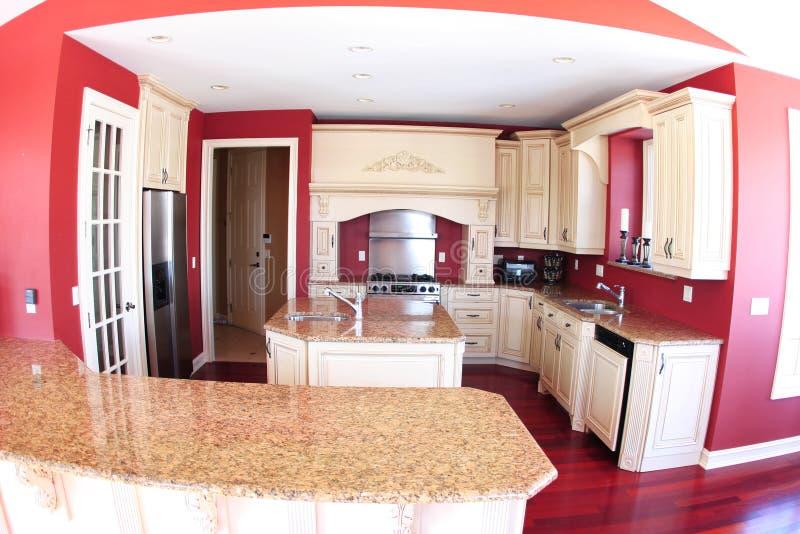 Cozinha luxuosa fotografia de stock royalty free