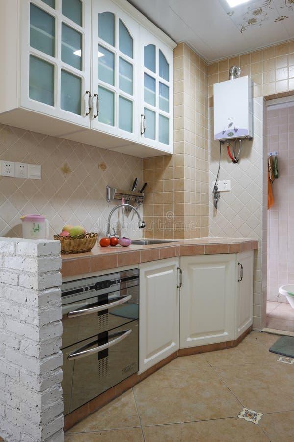 Download Cozinha moderna foto de stock. Imagem de porta, projeto - 10056384
