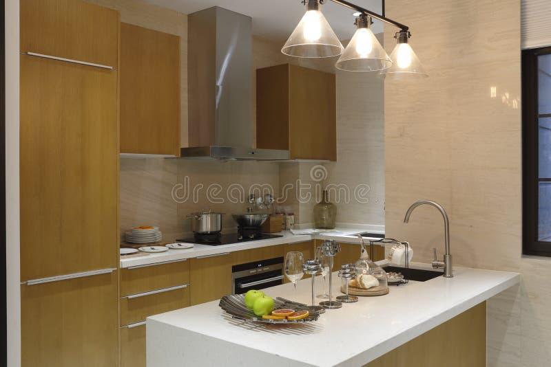 Cozinha multi-funcional concisa e vívida fotografia de stock royalty free