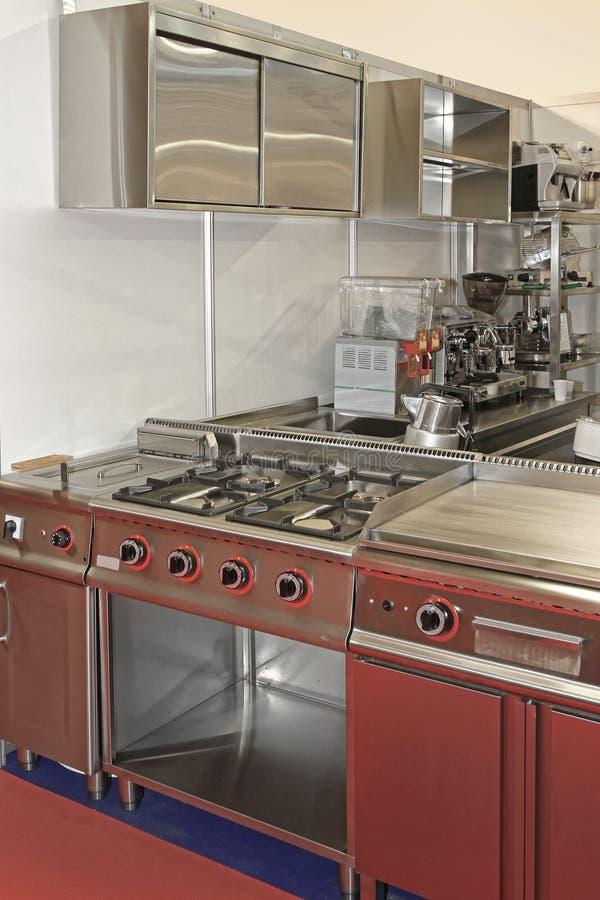 Cozinha profissional foto de stock royalty free