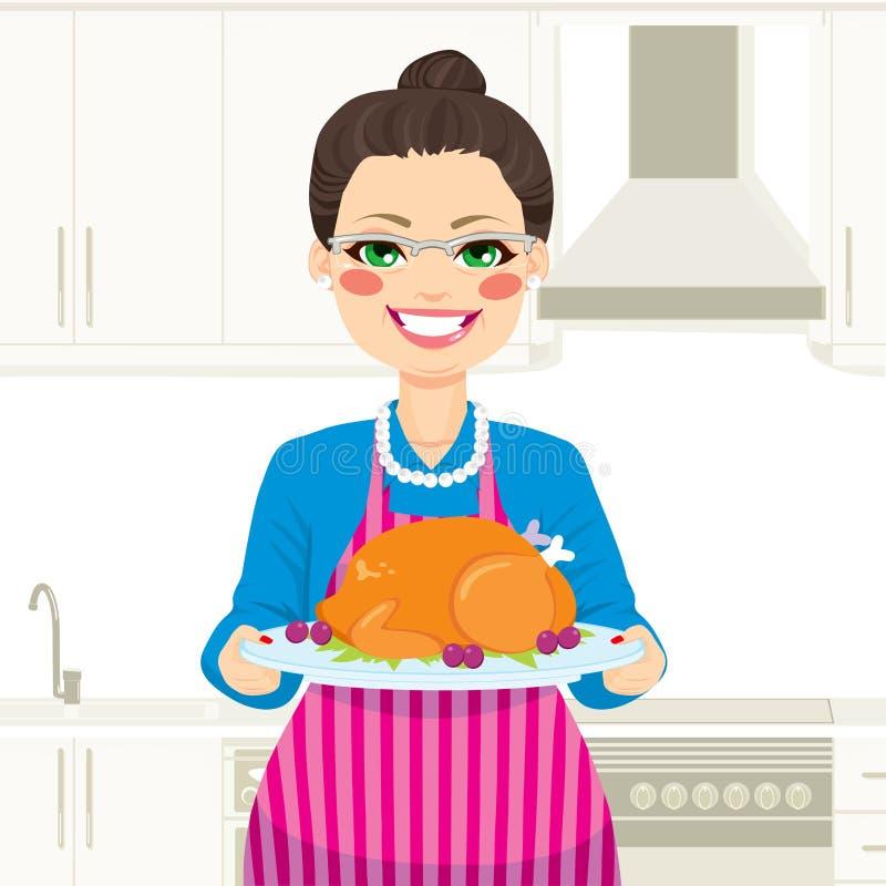 Cozinhando a ação de graças Turquia