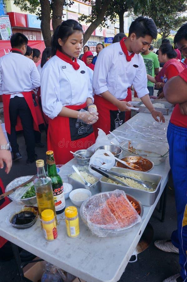 Cozinhando a competição foto de stock