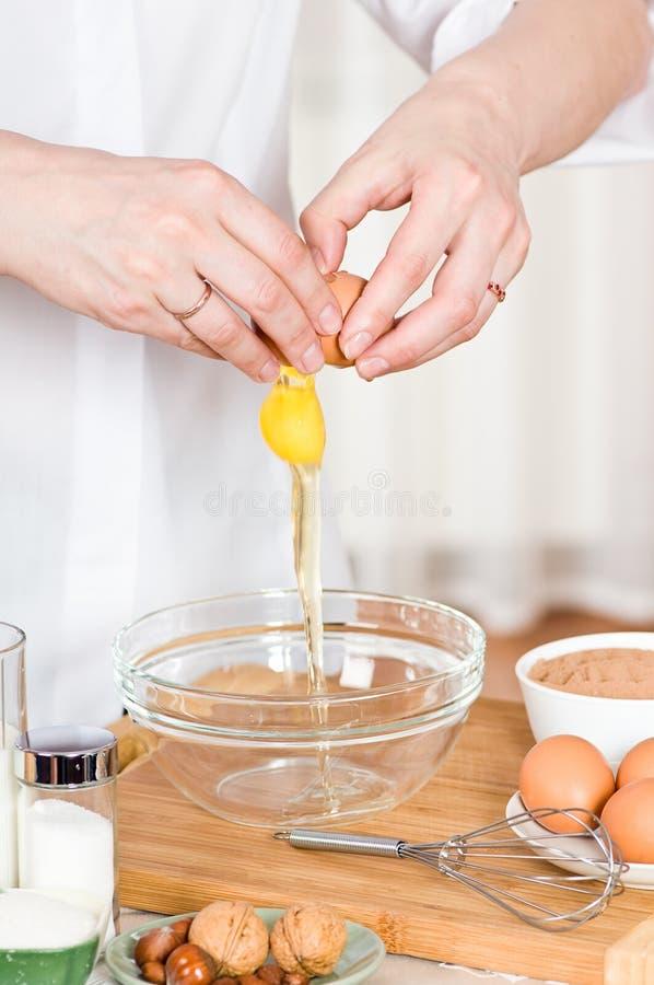 Cozinhando o alimento fotografia de stock