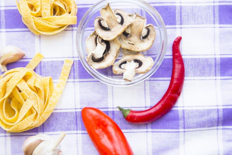Cozinhando o conceito - grupo de produtos saudáveis fotos de stock