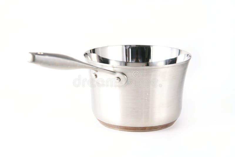 Cozinhando o Saucepan do potenciômetro imagens de stock royalty free