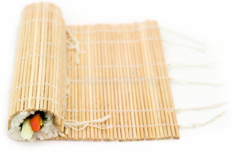 Cozinhando o sushi imagens de stock