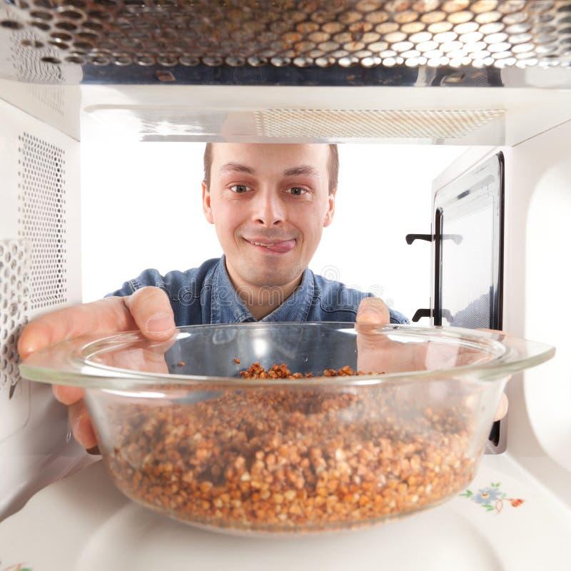 Cozinhando O Trigo Mourisco Imagem de Stock